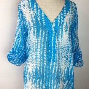 Other - NWT SZ M Swimsuit Cover Up in Ocean Blue